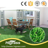 Garden artficial grass with PE straight&curly home garden decoration roof artificial turf