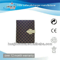 For ipad 360 degree rotating leather case (strong magnetic, sleep/wake function)