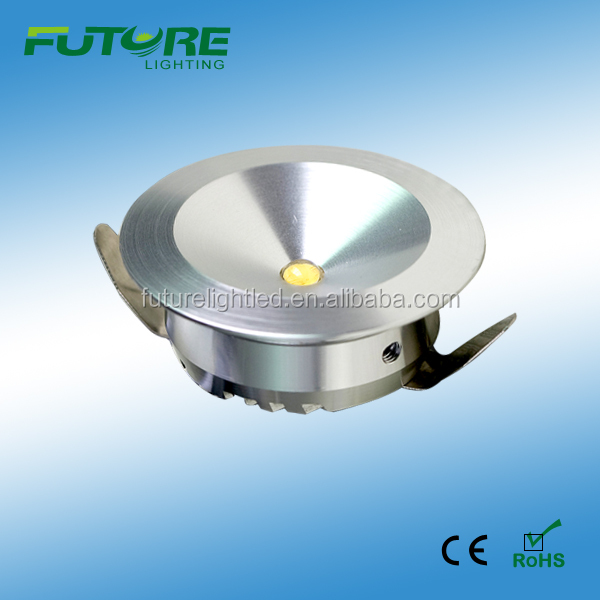 1W 3W 12VDC or 35mA led downlight jewellery lighting led lights