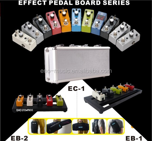 High Qulity Mini size ENO Distortion/Chorus/Echo/Delay/Fuzz/Flanger/Compressor/Octaver/Etremolo Guitar Effects Pedal