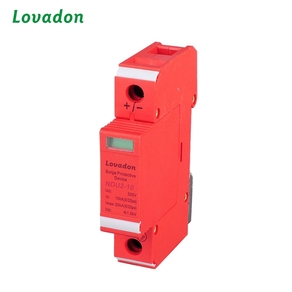 Hot Sale 1P 10kA 275V 320V 385V/420V 420V Fiber Glass Reinforced Plastic Surge Protection Device Fiber glass reinforced plastic