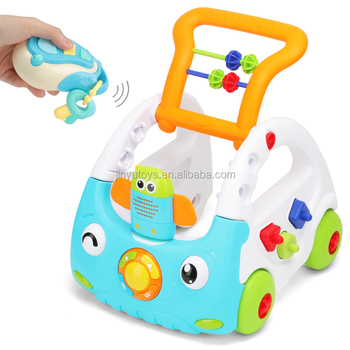 Baby Sit to Stand Learning Walker Push Car Activity baby Walker with Music and Lights
