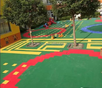 kindergarten use,playground use,eco-friendly interlocking tiles