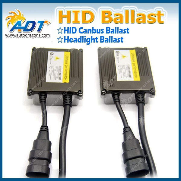 2015 New And Hot Products Slim canbus hid ballast 9-32V 35W double cable car auto HID xenon ballast kit