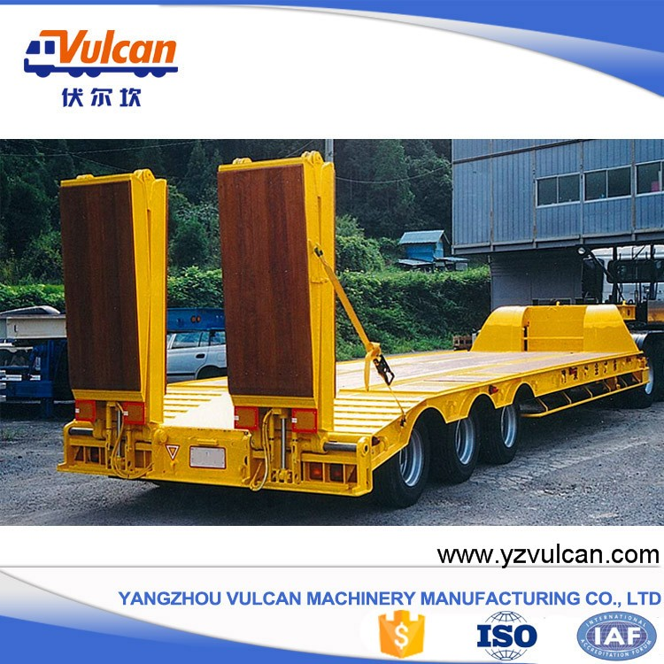 3 axle gooseneck lowbed semi-trailer with dimensions