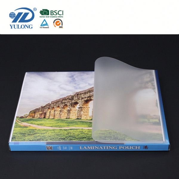 Anti-static double sided laminating film
