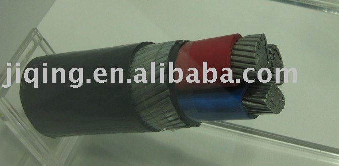 NA2XY 0.6/1kv, Aluminum Conductor, XLPE Insulation, PVC Sheathed Power Cable