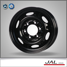 6x15 ET 40 PCD 139.7 CB100 Black Wheel of Steel with 6 Lugs