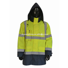 2015 waterproof high visibility jacket for men
