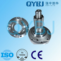 Professional dump truck auto parts chain drive rear axle differential housing, forged atv differential shell