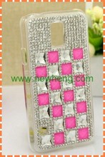 Back cover hard plastic shining diamond case for Samsung Galaxy S5 I9600