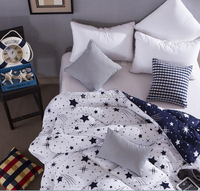 New Design Chinese Embroidery Star Pattern Quilt /BedSpread