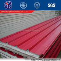 20 gauge color corrugated steel roofing sheet, cheap prepainted corrugated steel sheet