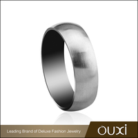 OUXI Korean style best polished stainless steel jewelry finger ring B70005