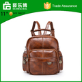 Multi functional backpack retro PU backpack lady Travel Bag