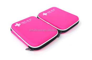 Portable shockproof Health Care Home Equipment first aid kit bags box