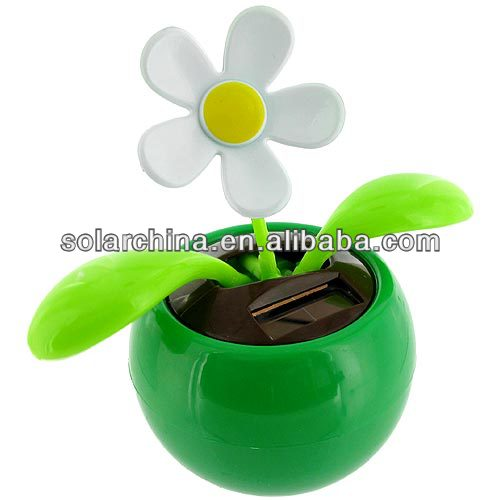 popular products solar dancing flower put in the car for decoration