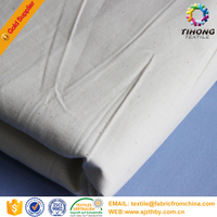 white bleached polyester cotton tc pocketing fabric