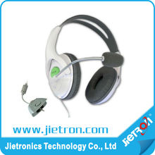 fashionable headphone for xbox360,headset earphone for xbox360 game accessories