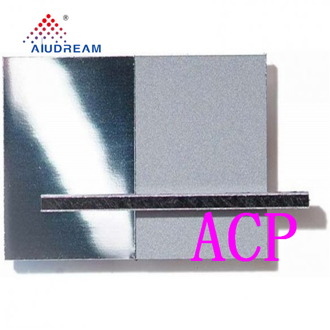 Aludream PVDF Coated Alucobond sheet aluminum exterior wall panels