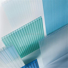Plastic roofing material 8mm double wall Polycarbonate Sheet