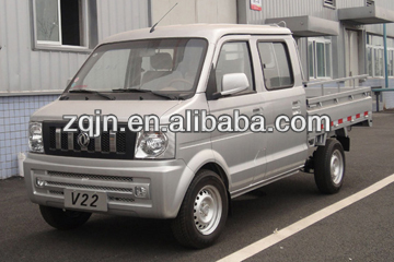 Double Cabin 1-10tons dongfeng 4x4 diesel mini truck