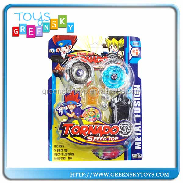 2014 new design led beyblade spinning tops kid toys