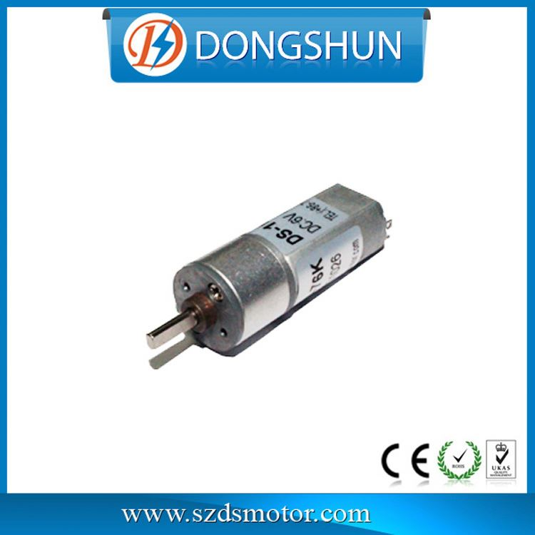16 mm DS-16RS050 4.5 volts 3d printer gear motor