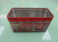 truck shape car shape bus shape gift/biscuit tin case for kids