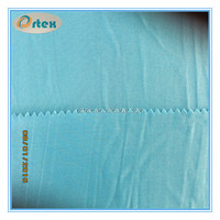 micro polyester spandex space dye jersey fabric