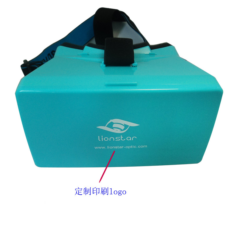"2020 Promotion Gift For Virtual Reality Headset 3D Plastic VR Glasses Goggles for 3.5""-5.4"" Android iOS WIN Smartphones"