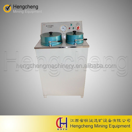 high adaptability disk lab vacuum filter for ore dressing