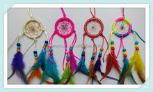 Antique Imitation Enchanted Forest Dreamcatcher Gift Handmade Dream Catcher Net With Feathers Wall Hanging Decoration Ornament