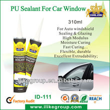 Polyurethane sealant for auto window glass sealing (REACH,SGS certificate)