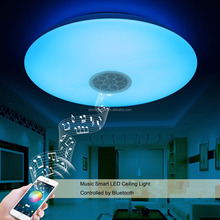 Full Colors RGBW 4 in one Bluetooth Smart LED Ceiling Light with Music