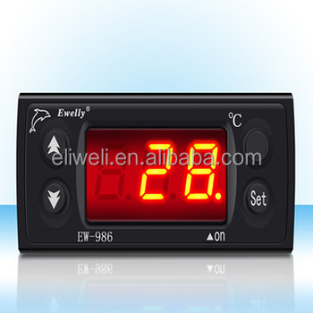 EW-986B-1 Digital thermometer to 400 degree temperature controller with thermocouple type k