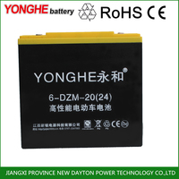 SHOCK PRICE 12V20AH 12v dry cell rechargeable battery for electric scooter