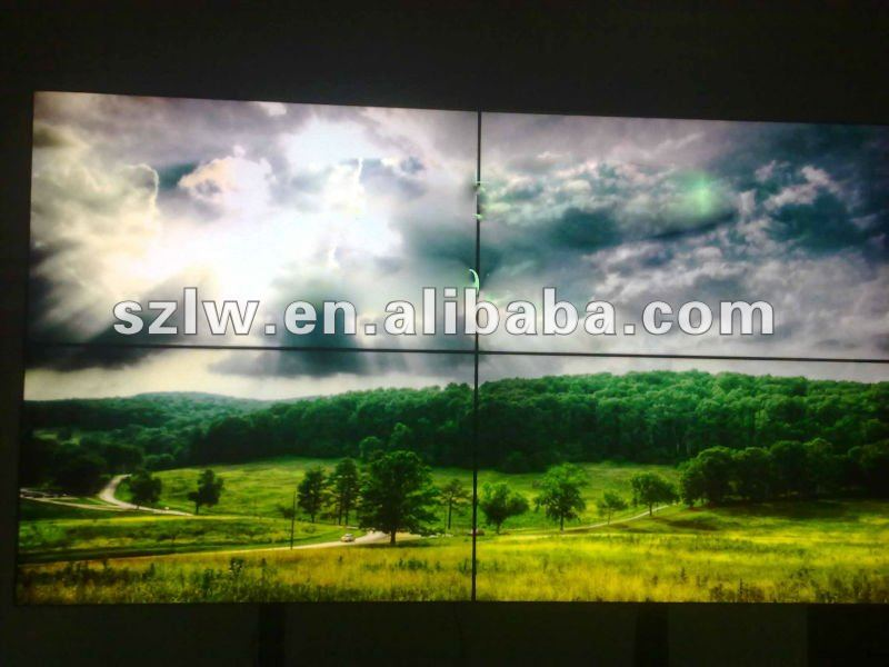 Signage Samsung screen 40 inch 2x2 lcd circular wall display 4K display supported