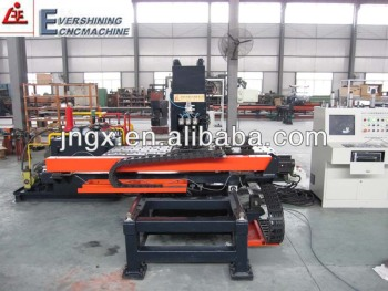 CNC hydraulic hole punching machine
