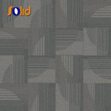 Hot sale standard size 60x60 removable carpet tiles for office