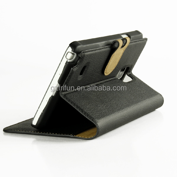 best selling flip stand wallet case with card slots for samsung ,cheap elegant 2 in1 cell phone cover for samsung note 4