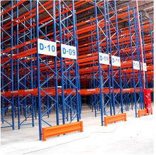 Industrial heavy duty steel pallet sliding rack with cheap price