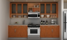 Good Quality Kitchen Furniture Set Hanging Wall Cabinet Design