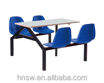school restaurant equipment dining table and chair