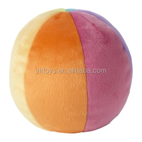 Best made rolling ball toy soft baby playing ball toys gift puff ball toys