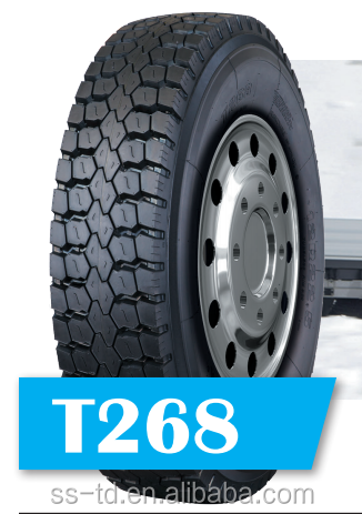 Truck Tire Tubeless Radial Top Tire Brands r22.5