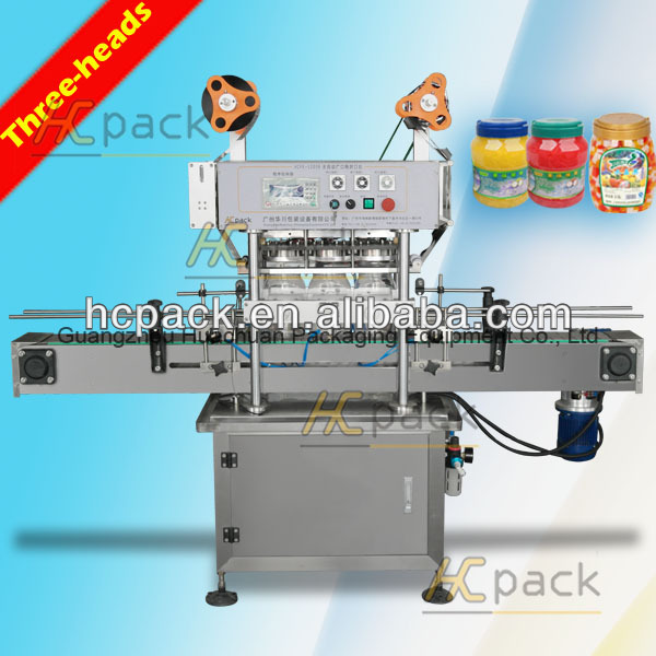 automatic three-hands plastic film sealer
