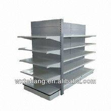 gondola racking system metal clothes fruit vegetable display