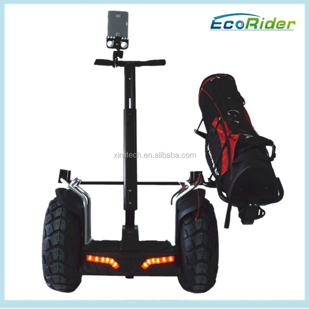 EcoRider Golf Scooter E8-2 two wheels electric chariot with 21 inch Tire