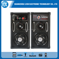 hot sale factory speaker with USB/SD/MMC/FM bluetooth function/color box/LED light